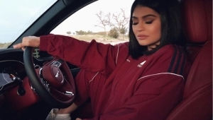 Kylie Jenner's first post pregnancy photos
