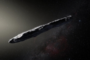'Oumuamua Is Spinning From Violent Space Collision