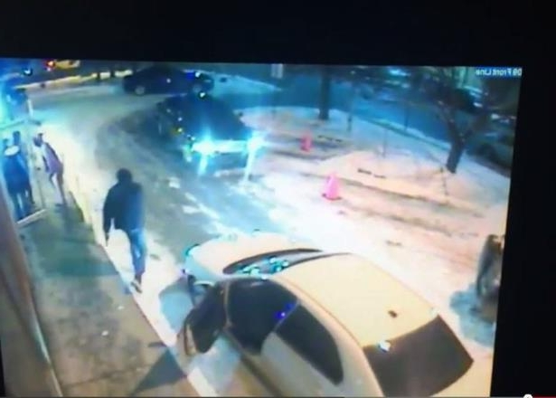 Video footage allegedly showing a shooting at Calgary's Ten X Nightclub was posted to YouTube on Monday, Jan. 11, 2015.