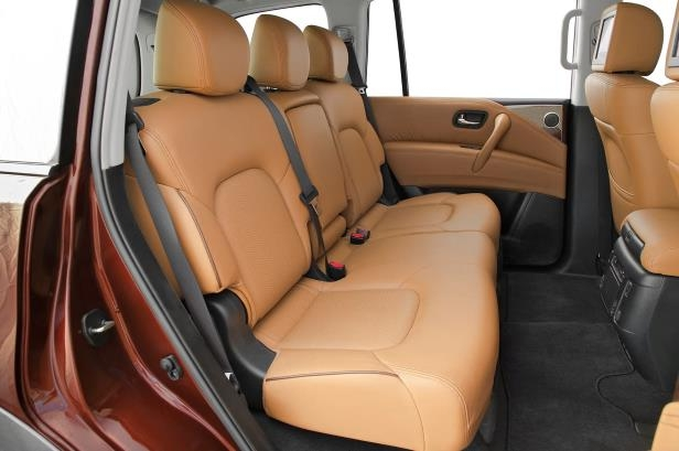 Slide 20 of 184: 2018-Nissan-Armada-Platinum-4WD-rear-interior-seats-1.jpg