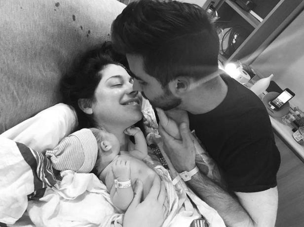 "Slide 5 of 9: <p>Singer Christina Perri welcomed her first child, a girl, with husband Paul Costabile on January 17. They shared the big news via Instagram. ""The greatest gift we've ever known !!! Welcome to the world Carmella Stanley Costabile born today,"" the entertainment reporter wrote. ""Mom and our little principessa are doing great. Dad can't stop crying!""</p>"