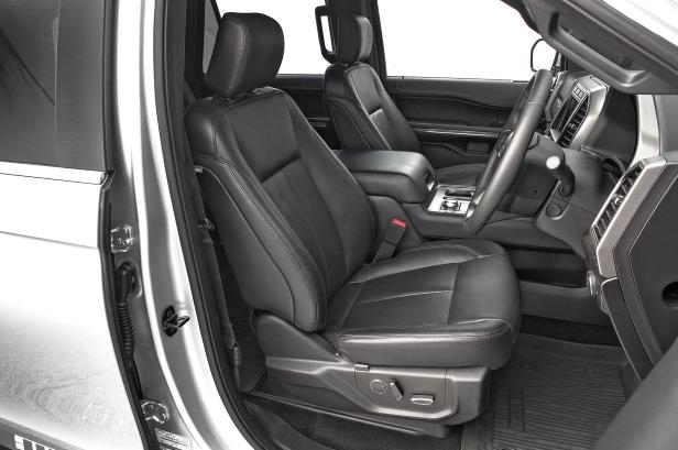Slide 79 of 184: 2018-Ford-Expedition-XLT-4x4-FX4-front-interior-seats-1.jpg