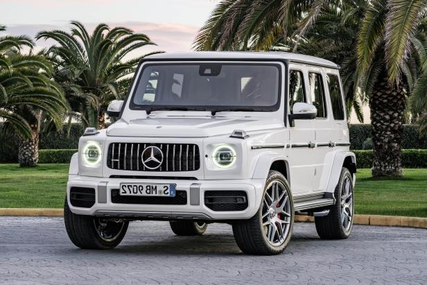 The 2019 Mercedes-AMG G63 has 577 horsepower and 621 pound-feet of torque.