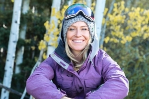How this Olympian deals with dry skin after hitting the slopes