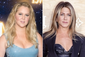 Jennifer Aniston Attended Amy Schumer's Surprise Wedding 2 Days Before Announcing Split