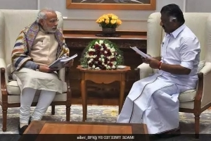 'I'm Minister Because Of PM Narendra Modi's Advice,' Says OPS