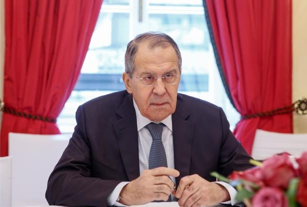Russian Foreign Minister Sergei Lavrov responded to the Mueller indictment at the Munich Security Conference on Saturday.