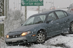 Thankfully, you didn't hit anyone in that winter spin. But your car can still be damaged