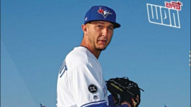 Sports Troy Tulowitzkis Pitcher Pose Is Now A Baseball Card