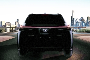 The Production Lexus UX Keeps the Concept's Tailfins