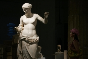 Subway Construction Unearths Ancient Greek Statue
