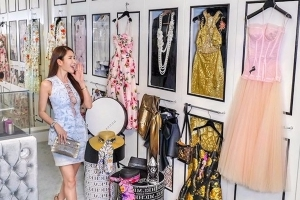 Inside a Singaporean socialite's 700-square-foot closet that's bigger than most people's apartments
