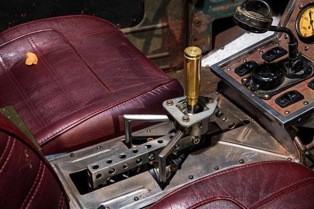 Slide 11 of 39: 1949-ford-f3-pickup-shift-lever.jpg