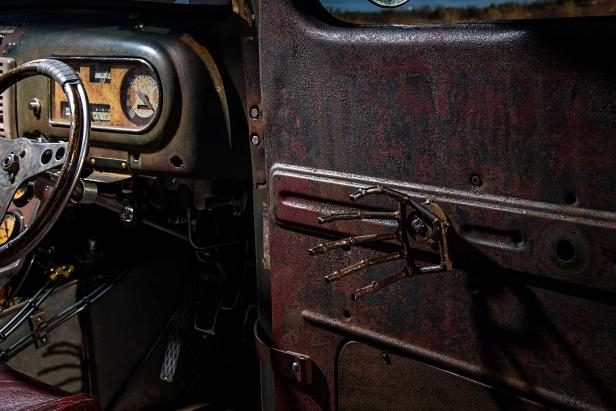 Slide 29 of 39: 1949-ford-f3-pickup-custom-door-handle.jpg