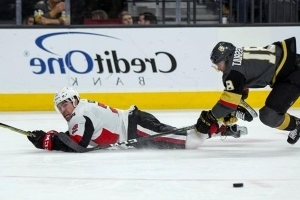 Burrows scores in 3rd, Senators hold off Golden Knights