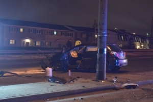 3 taken to hospital with serious injuries, alcohol believed to be factor in vehicle crash