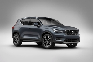 Volvo XC40 Getting Inscription Model, All-Electric Variant