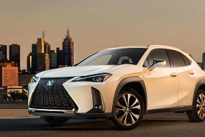 Lexus UX crossover photo and video released ahead of Geneva