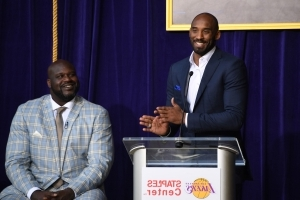 Shaq, others tweet congratulations to Kobe for Oscar win