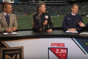 Will Ferrell sets up LAFC-Sounders match as Ron Burgundy