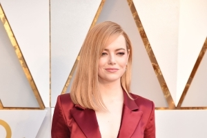 Emma Stone wore trousers on the Oscars red carpet