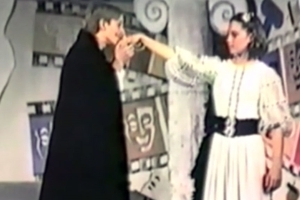 This video of Kate Middleton starring in a school play aged 13 is strangely prophetic
