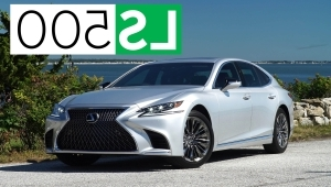 a car parked in a parking lot: 2018 Lexus LS Quick Drive