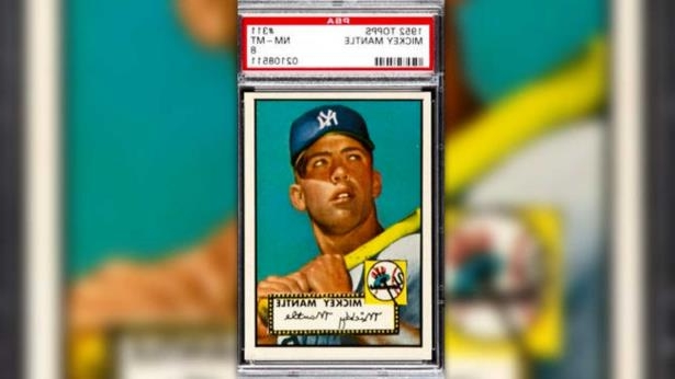 Sport Mickey Mantle Rookie Card Expected To Break Record