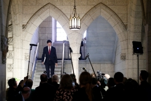 Has Trudeau reached a tipping point? A new poll shows his support slipping.