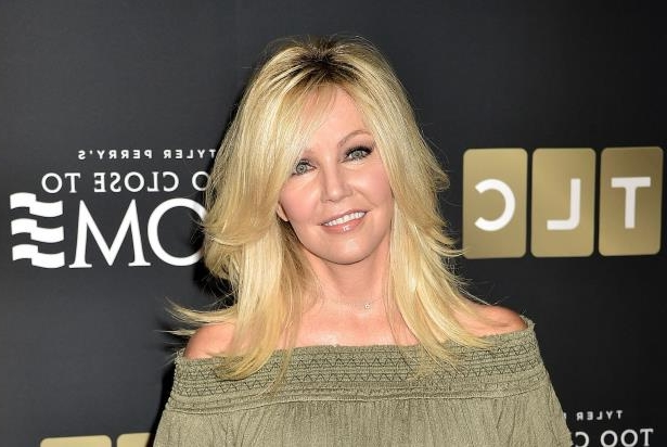 Heather Deen Locklear with collar shirt: Photo: Marc Flores/Getty Images