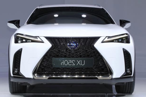 Slide 10 of 56: 2019-Lexus-UX-250h-front-view.jpg