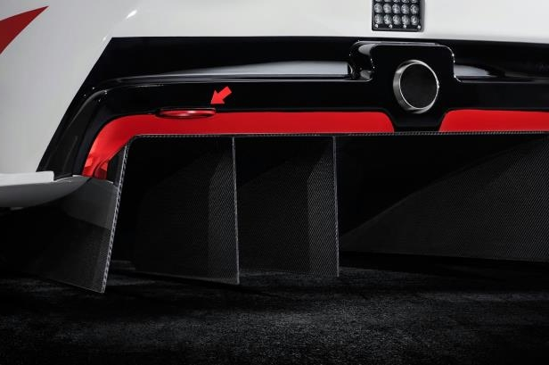 Slide 13 of 52: Toyota-GR-Supra-Racing-Concept-tow-hook.jpg