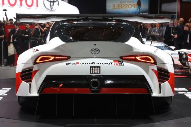 Slide 3 of 52: Toyota-GR-Supra-Racing-Concept-rear-view-1.jpg