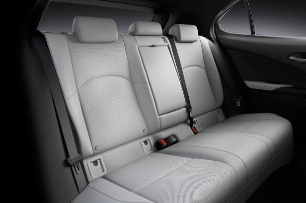 Slide 40 of 56: 2019-Lexus-UX-200-rear-interior-seats-02.jpg