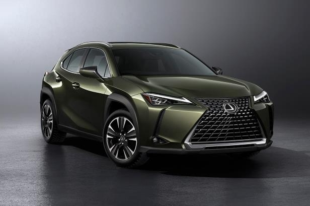 Slide 47 of 56: 2019-Lexus-UX-200-front-three-quarter-02.jpg