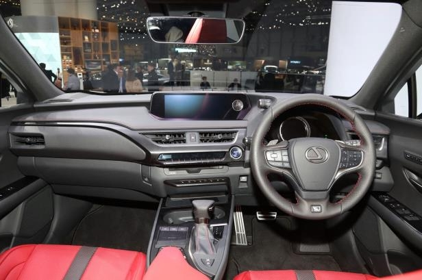 Slide 6 of 56: 2019-Lexus-UX-F-Sport-interior.jpg