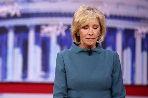 Teachers fire back at DeVos for using stock photo in claim about classrooms' structure