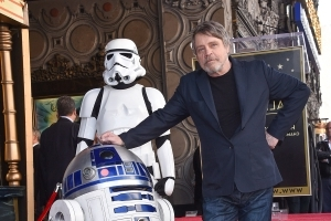 Mark Hamill Gets His Star on the Walk of Fame with Help from Harrison Ford and George Lucas