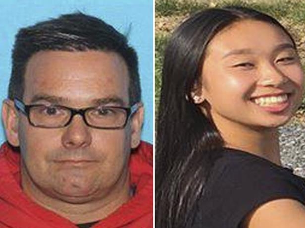 This combination from photos provided by Allentown, Pa., Police Department shows from left, Amy Yu and Kevin Esterly.
