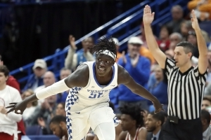 Gabriel, Kentucky use 3-point barrage to beat Alabama 86-63
