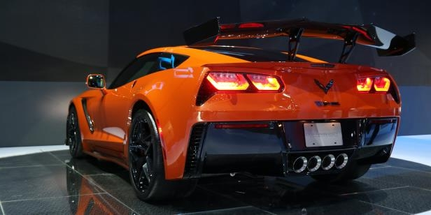 a car parked in a parking lot: Chevy Is Aiming for a Sub-Seven Minute Corvette ZR1 Nürburgring Lap