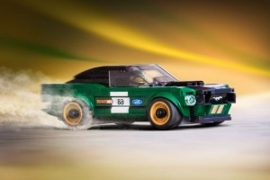 Fastbrick: Ford and Lego Snap Together a 1968 Mustang Fastback Kit for the Seven-Year-Old in Everyone