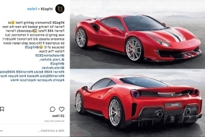 Leaked! Your First Look at the Hardcore Ferrari 488 Pista