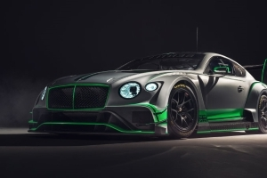 New Bentley Continental GT3 race car looks beautiful and brutal