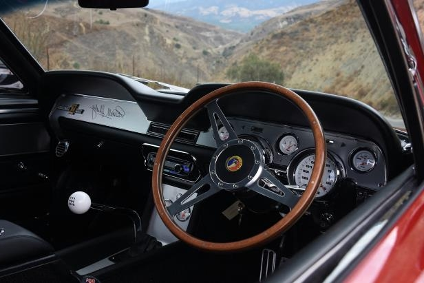 Slide 38 of 50: Shelby-GT-500CR-dashboard-02.jpg