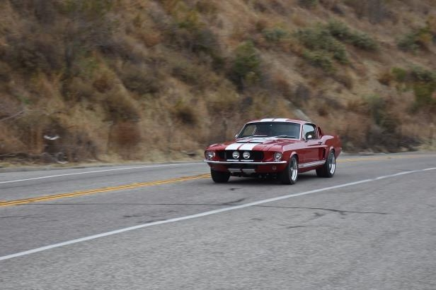Slide 43 of 50: Shelby-GT-500CR-front-three-quarter-in-motion-02.jpg