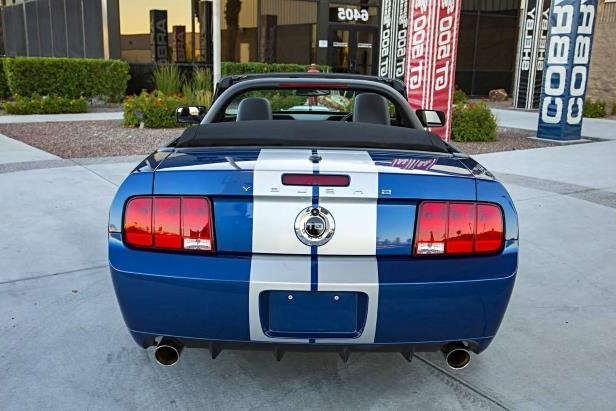 Slide 6 of 10: 09-2008-Ford-Shelby-GT-Convertible-Prototype-Rear-Profile.jpg