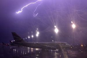 New Tech to Save Aircraft from Lightning Strikes