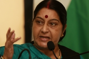 Swaraj slams Naresh Agarwal's 'Bollywood film dancer' comment about Jaya Bachchan