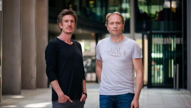 Sweatcoin co-founders Oleg Fomenko and Anton Derlyatka.